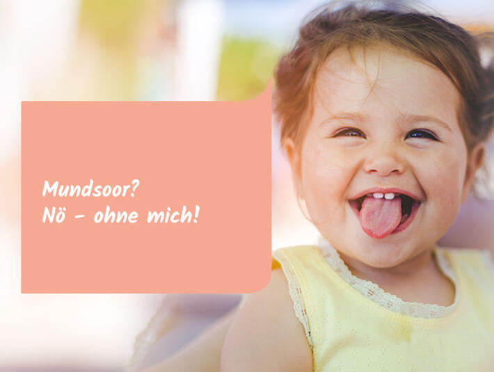 Topische Behandlung von Mundsoor bei Kindern